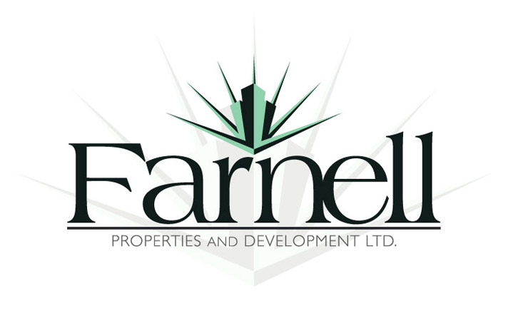 Farnell Properties Logo, designed by Big Boy Marketing Agency