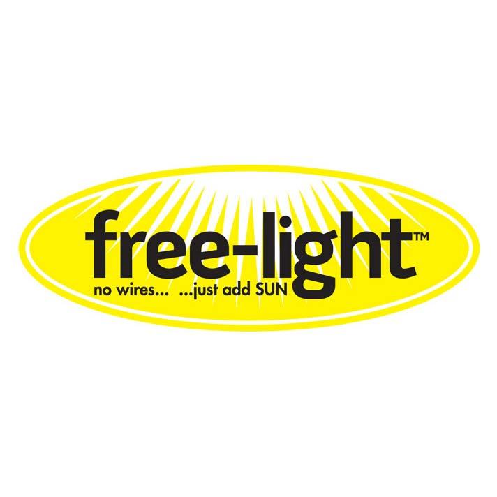 free-light company logo, yellow and black