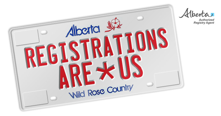registrations are us logo, licence plate