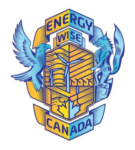 Energy Wise Canada crest logo full colour