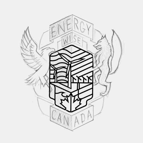 Energy Wise Canada crest logo exploration 1