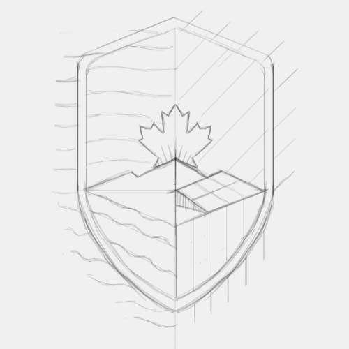 Energy Wise Canada logo sketch