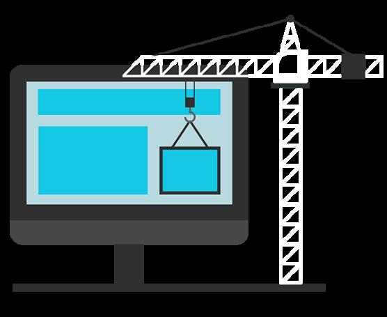 website development graphic